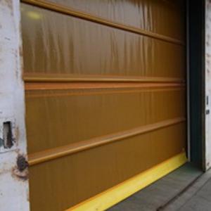 倉庫入口防虫シャッターe